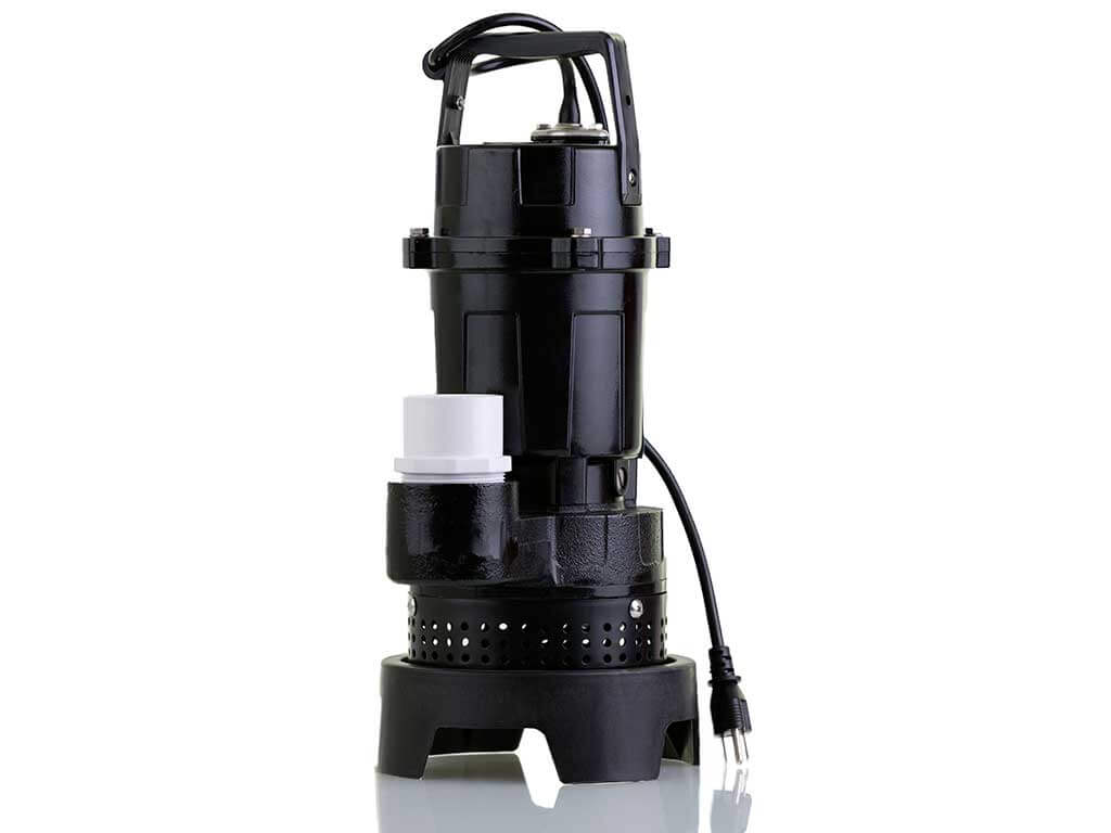 Sump Pump for Pushing Water Out from House Basement
